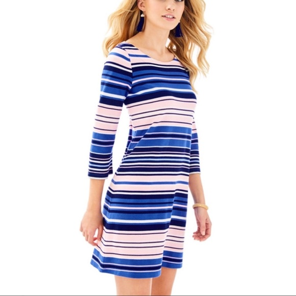 Lilly Pulitzer Dresses & Skirts - Lilly Pulitzer Striped Bay Dress